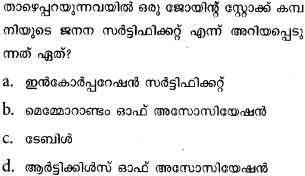 Plus One Business Studies Model Question Papers Paper 1 8