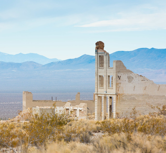 Cook Bank, Rhyolite, Nevada