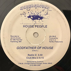HOUSE PEOPLE:GODFATHER OF HOUSE(LABEL SIDE-B)