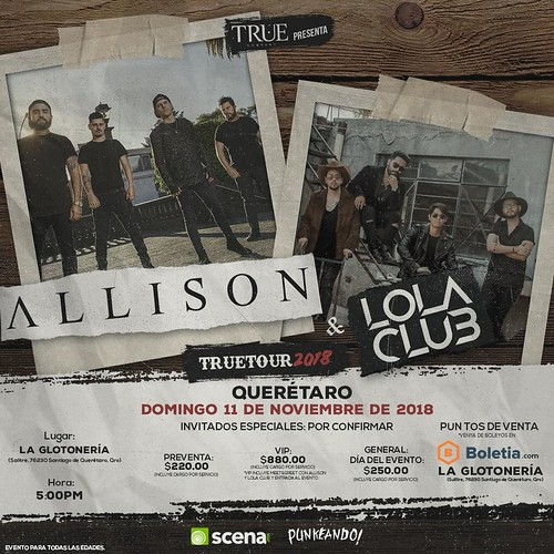 Allison y Lola Club en Querétaro