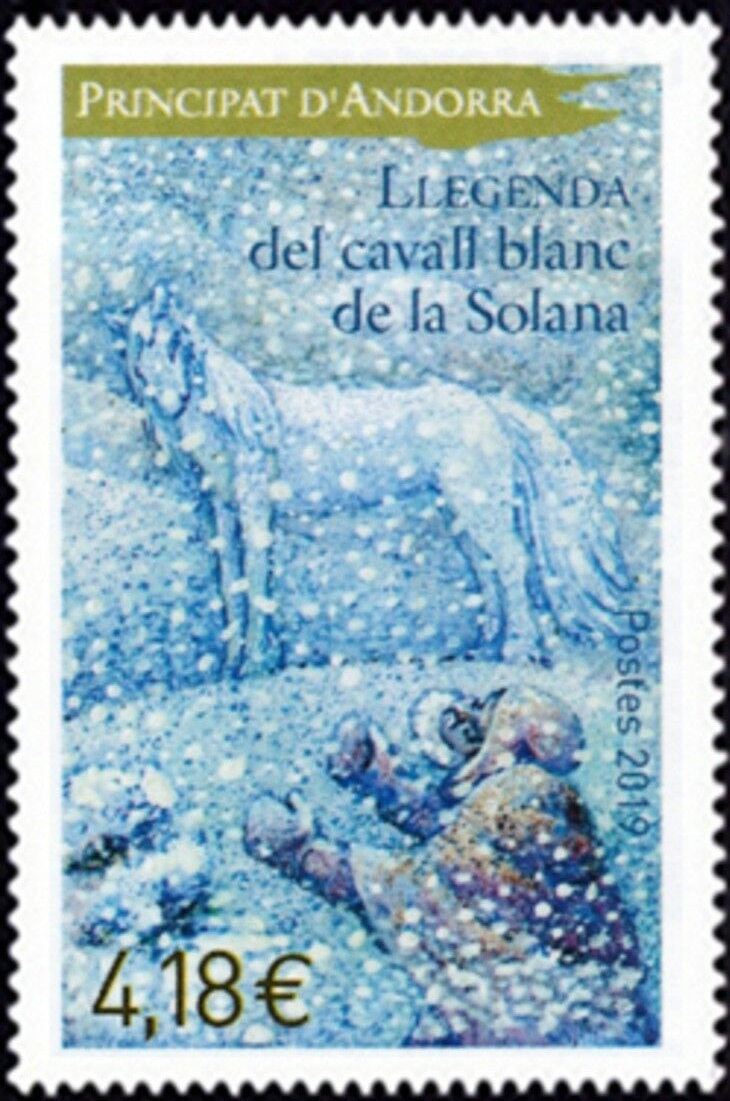 French Andorra - The Legend of the White Horse of Solana (January 4, 2019)