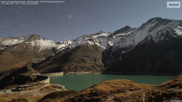 Photo:Moonlight snowline By bratispixl