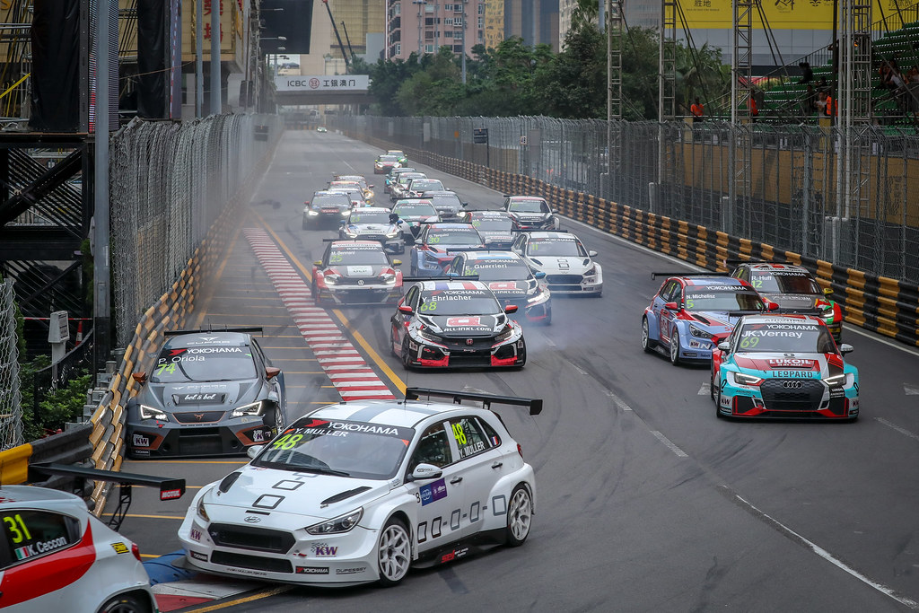 48 MULLER Yvan, (fra), Hyundai i30 N TCR team Yvan Muller Racing, action during the 2018 FIA WTCR World Touring Car cup of Macau, Circuito da Guia, from november  15 to 18 - Photo Alexandre Guillaumot / DPPI