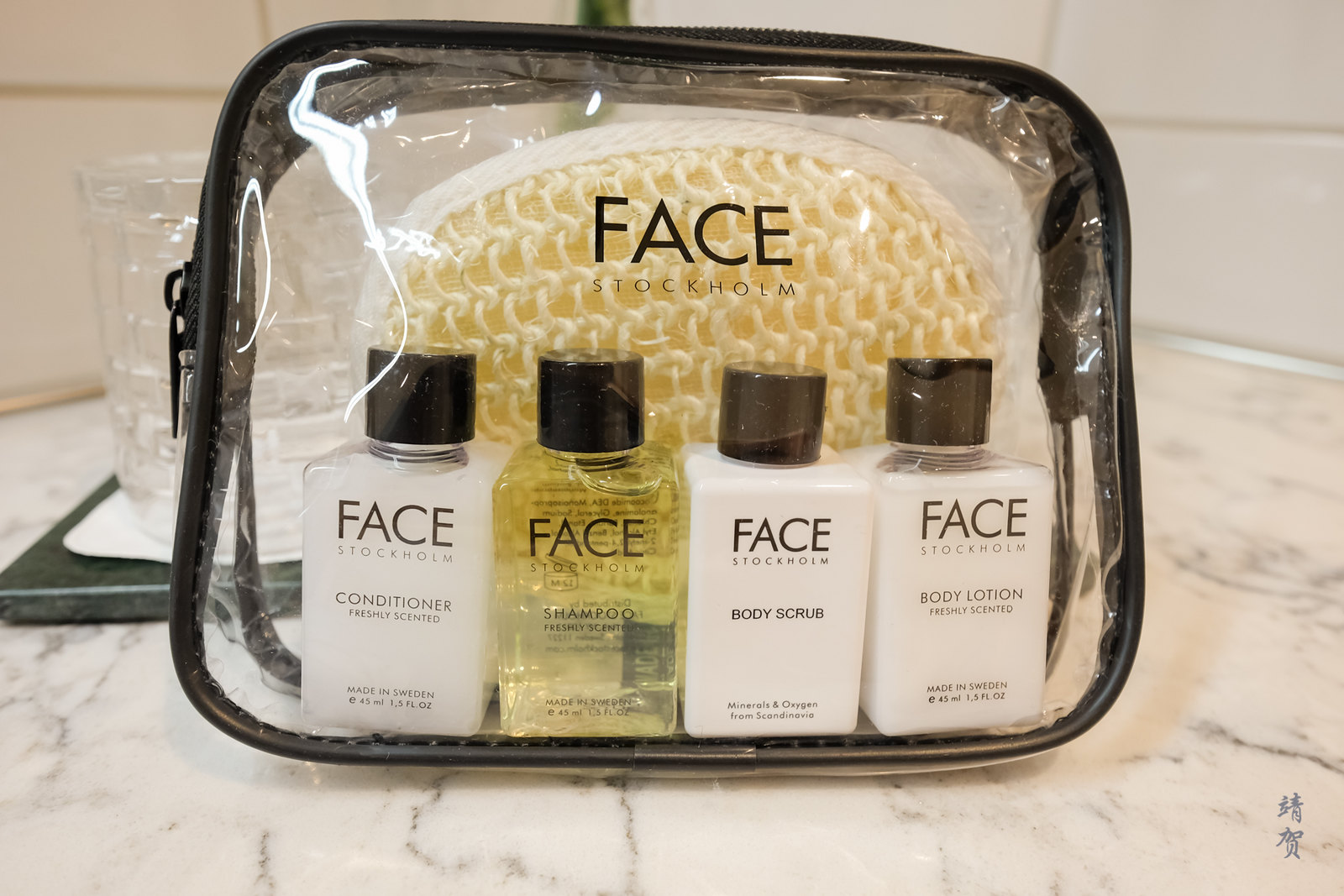 FACE amenity kit