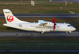 F-WWLH ATR Japan Air Commuter