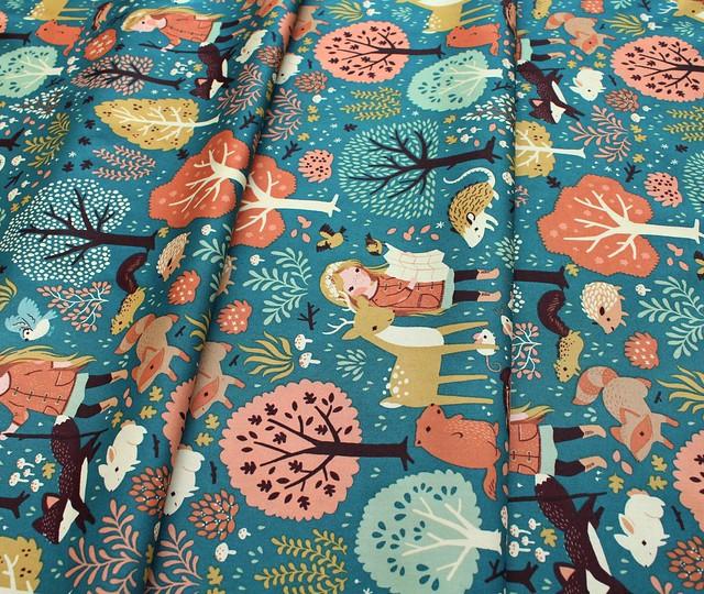 Birch Fabrics Best of Teagan White Nature Hike