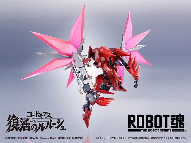 ROBOT魂《CODE GEASS 復活的魯路修》蘭斯洛特型、紅蓮型(暫稱)新機商品公開!