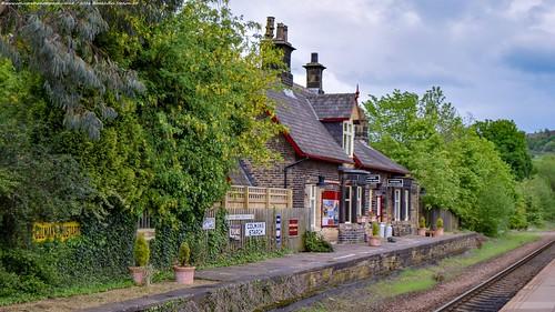 Brockholes Railway Station, Huddersfield