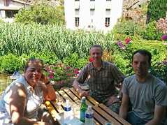 Sula, me & Tim, Lastours - Photo of Villeneuve-Minervois