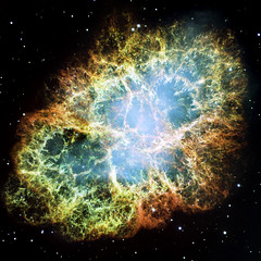 Image of a nebula taken using a NASA telescope - Original from NASA. Digitally enhanced by rawpixel.