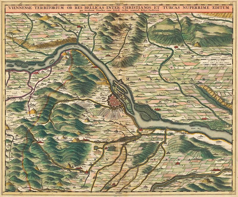 Nicolaes Visscher II - Viennense Territorium (1690)