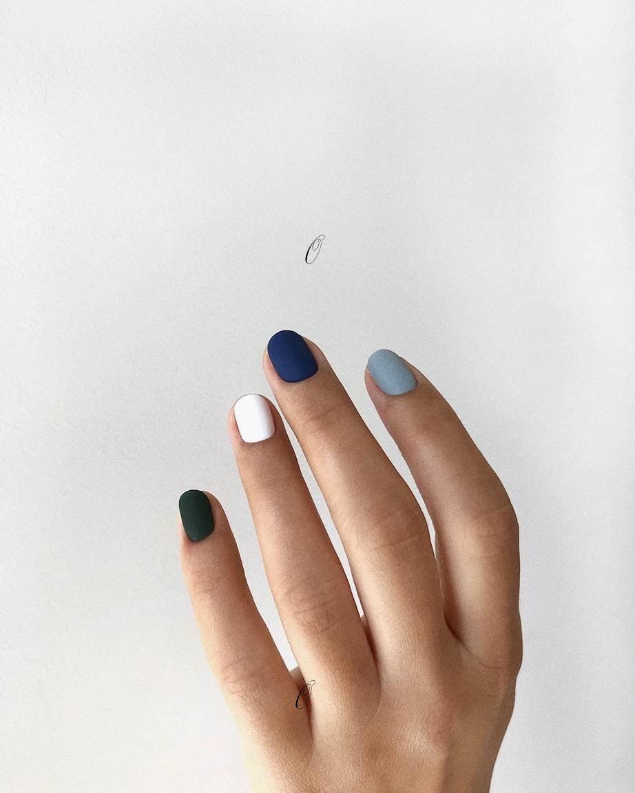textured nail polish nail art - SoNailicious