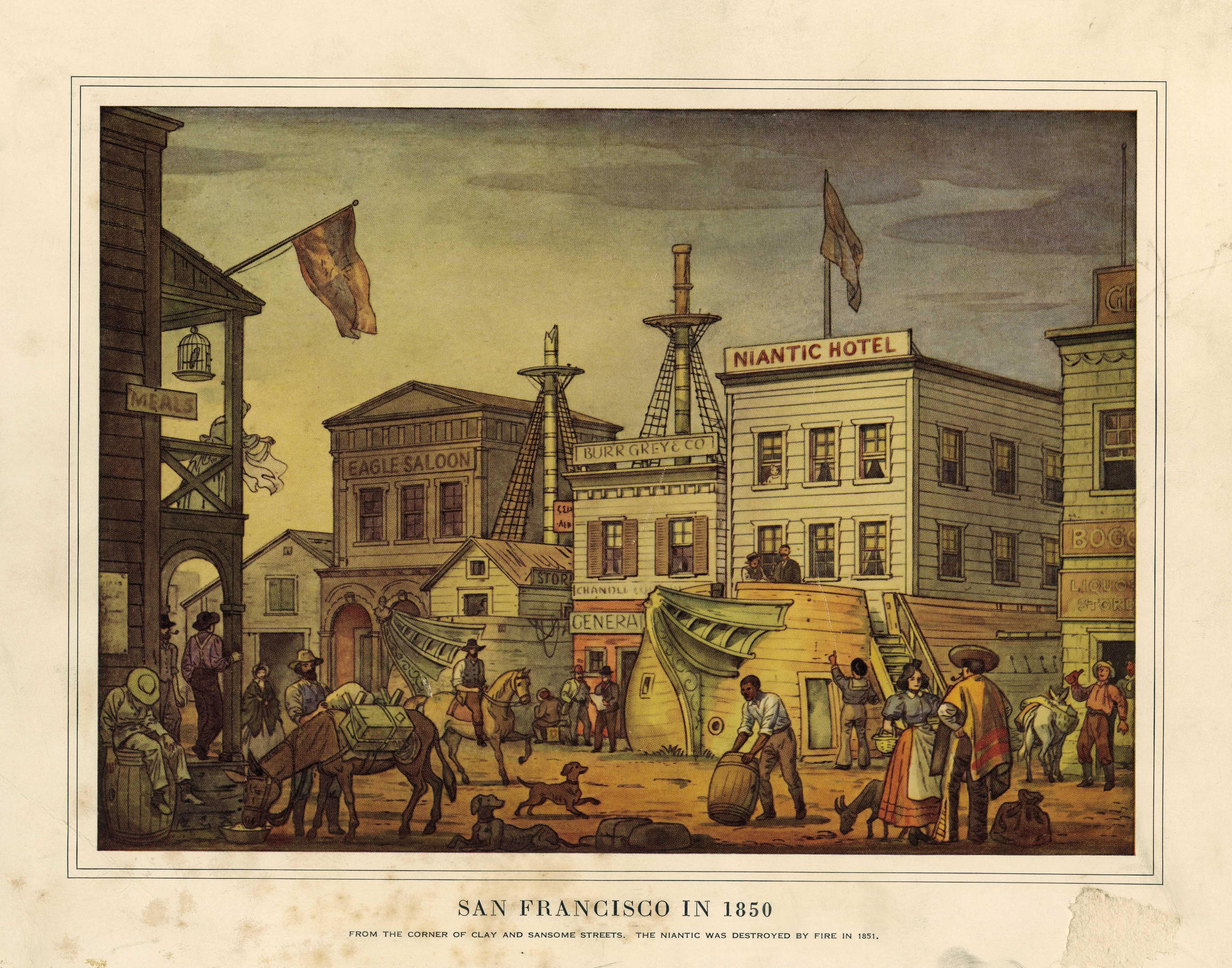 San Francisco in 1850