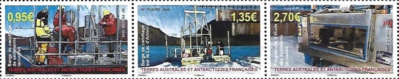 French Southern and Antarctic Lands - Kerguelen Island: Lake Sediment Sampling Program (January 2, 2019)