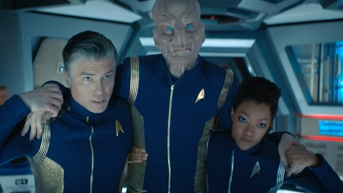 star trek discover season 2 episode 4 an obol for charon captian christopher pike michael burnham saru
