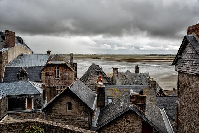 Mont Saint Michel Rooftops, Nikon D750, AF-S Nikkor 28-300mm f/3.5-5.6G ED VR