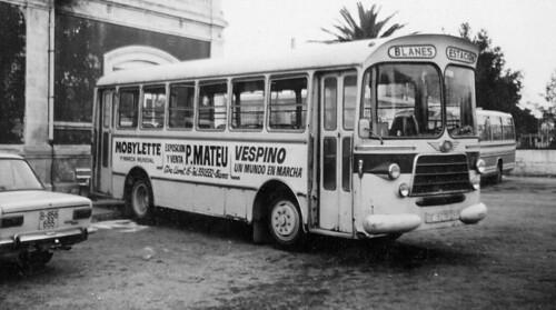autobús Nazar blanes 1974