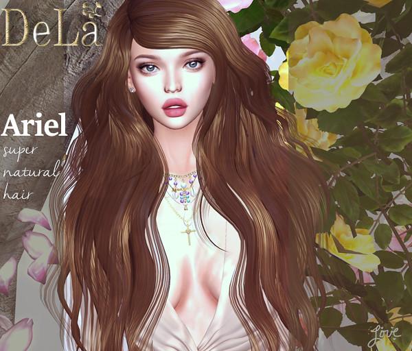 "=DeLa*= new hair ""Ariel"" - TeleportHub.com Live!"