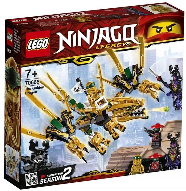 LEGO Ninjago Legacy 2019 70666 01