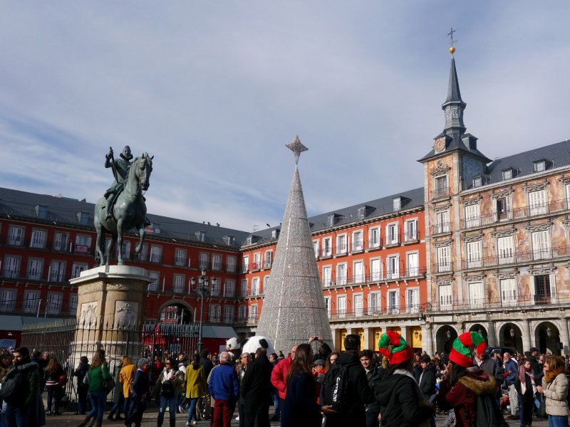 Plaza Mayor Christmas