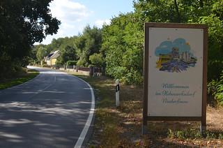 Wanderung von Chorin nach Niederfinow
