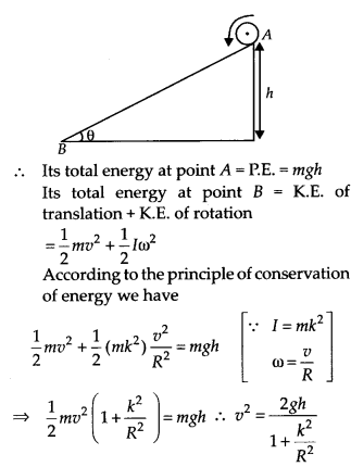 NCERT Solutions for Class 11 Physics Chapter 7 System of particles and Rotational Motion 38