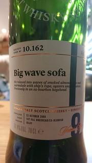SMWS 10.162 - Big wave sofa