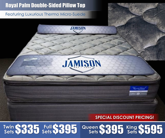 Royal Palm Double Sided Pillow Top Mattress_Special
