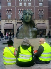 Yellow Vests and Sculpture