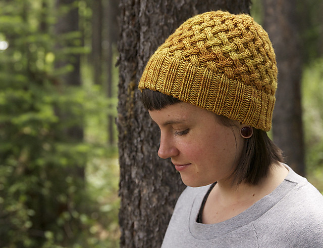 Apple Pie hat by tincanknits