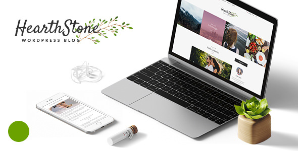 HearthStone v1.7 – Responsive WordPress Blog Theme