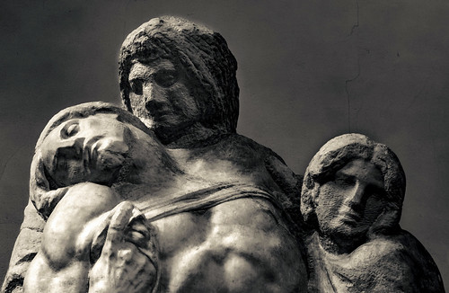 Palestrina Pietà - allery of the Academy of Florence - Italy