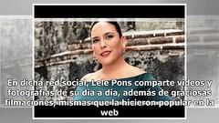 Lele Pons contonea sus encantos al estilo de Shakira (VIDEO)