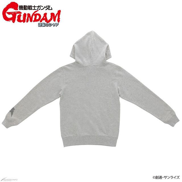 忠實再現劇中的阿姆羅造型!《機動戰士鋼彈 逆襲的夏亞》阿姆羅造型夾克 / ν鋼彈連帽外套 / 沙薩比連帽外套 / 全版 T-Shirt