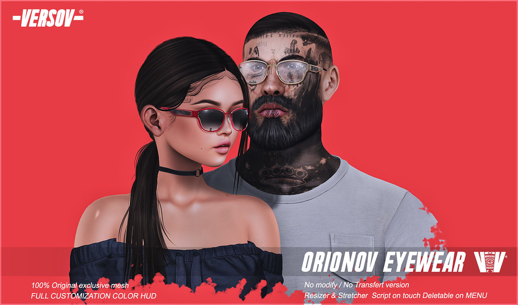 Versov // ] Orionov glasses available FaMESHed!