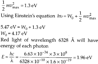 NCERT Solutions for Class 12 Physics Chapter 11 Dual Nature of Radiation and Matter 47