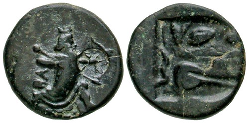 Achaemenid Kingdom coin King in Action