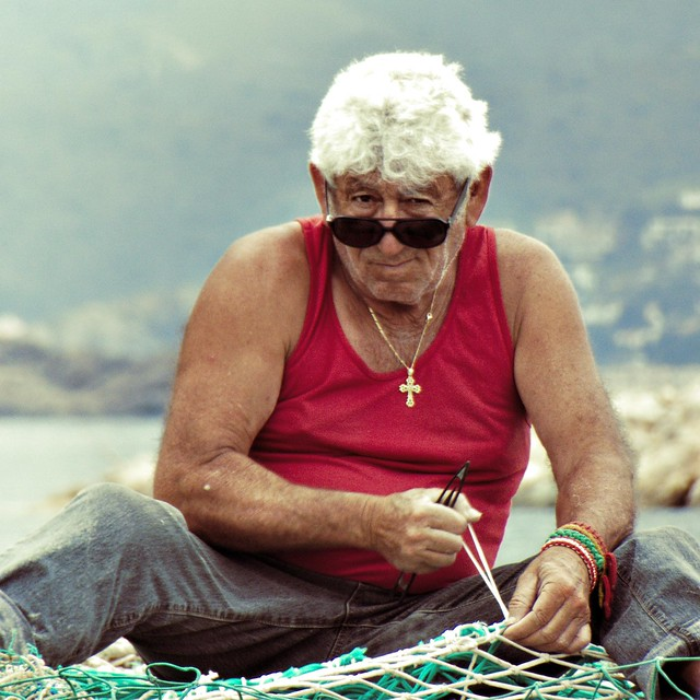 Catalan fisherman