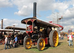 "wdw1998 posted a photo:	""Prospector"" built 1910 is the only original Foden Showman's Engine in existence"