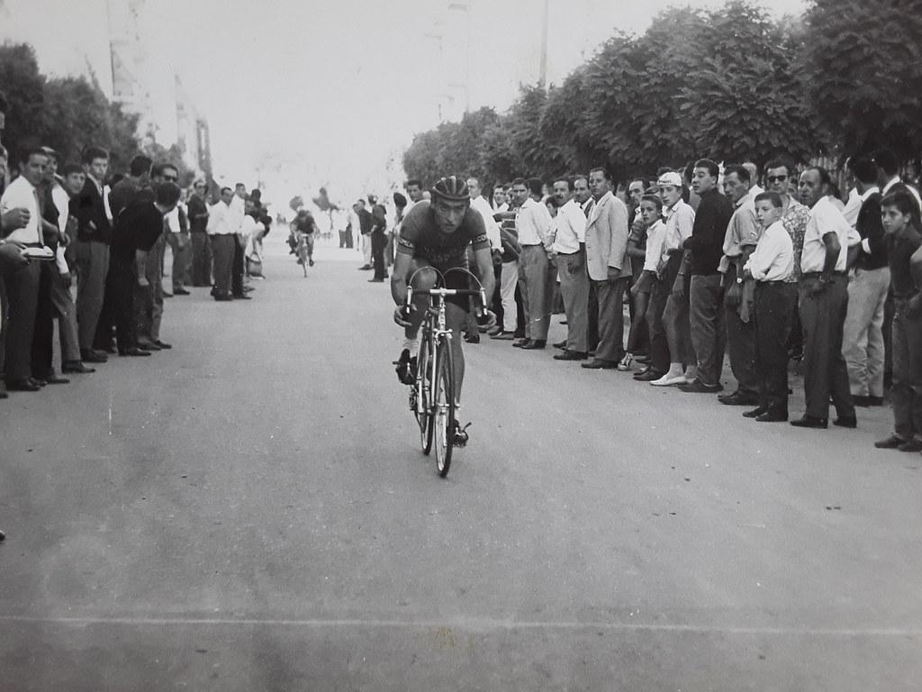 Cappelletti Egidio in corsa