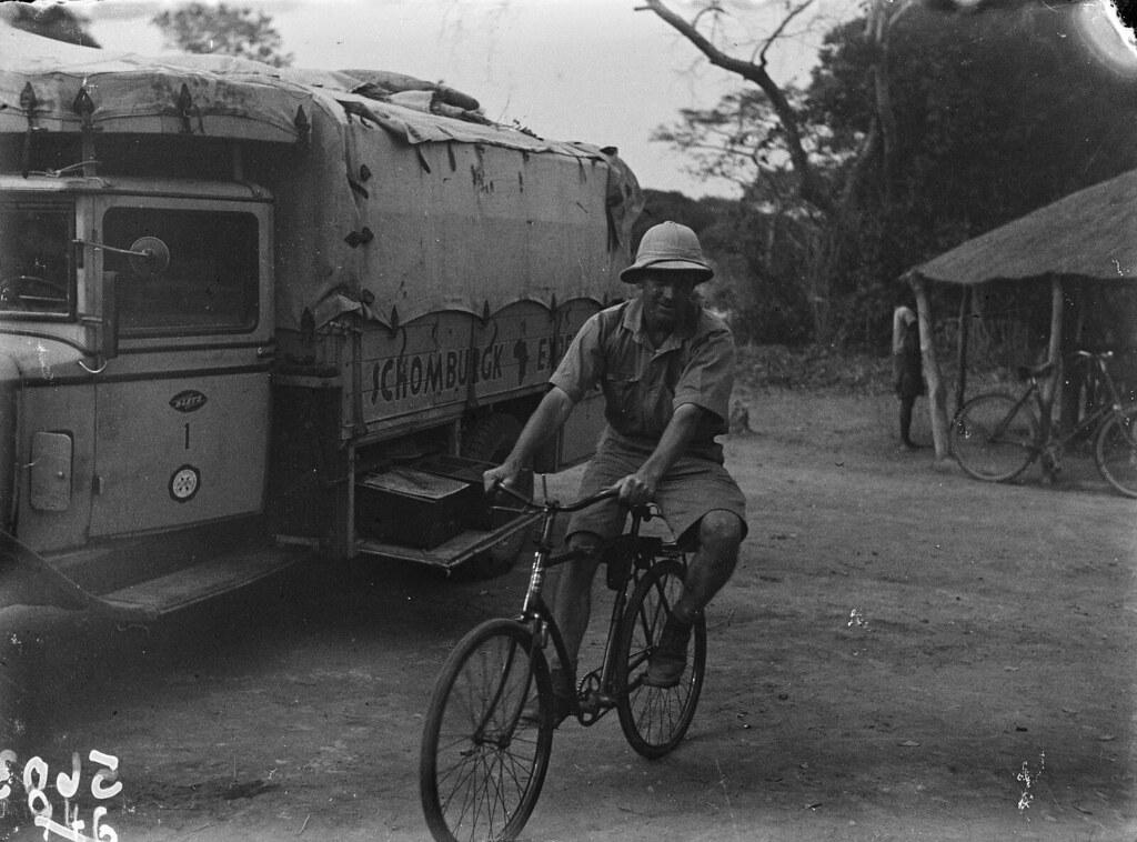 Катаба. Пол Либеренц на велосипеде