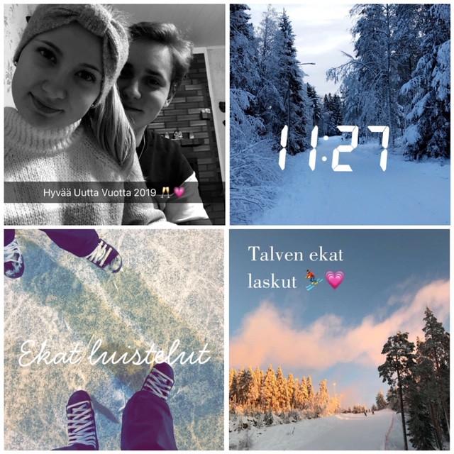 Snapchat kooste - Tammikuu