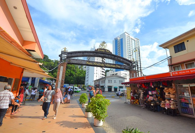 kota kinabalu brunei itinerary jesselton point