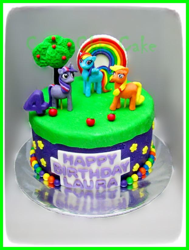 Cake My Little Pony LAURA 20 cm