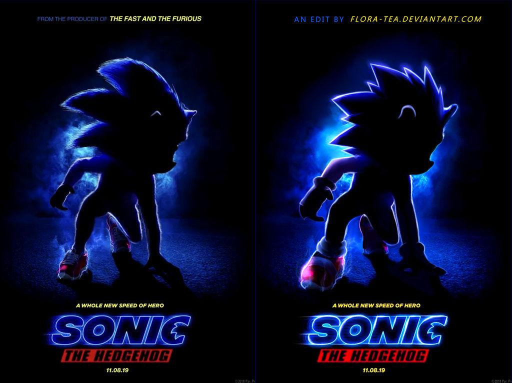 Sonic The Hedgehog Disturbing Movie Poster - RA:N