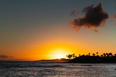 Poipu Beach sunset Kauai Hawaii