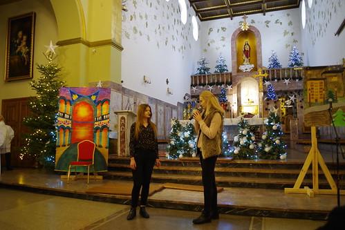 Jasełka w kościele pw. NSPJ Tomaszowie Lubelskim