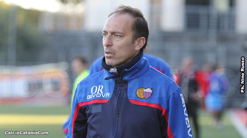 Orazio Russo, allenatore della Berretti del Catania