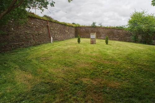 Portion of mass grave at Old Workhouse cemetery