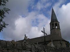 20080907 31809 1008 Jakobus La Chaze de Peyre Kirche Glocke Turm Madonna - Photo of Prinsuéjols